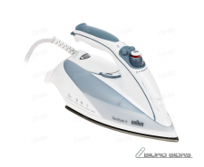 Braun Steam iron TS 535 TP White, 2000 W, Steam, Contin..