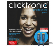 Clicktronic 70302 High Speed HDMI™ cable with Ethernet,..