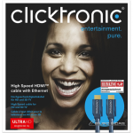 Clicktronic 70303 High Speed HDMI™ cable with..