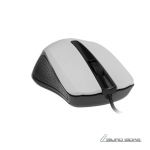 Gembird MUS-101-W Optical mouse, White, 3 but..