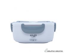 Adler Lunch Box AD 4474 Electric powered, White/ grey, ..