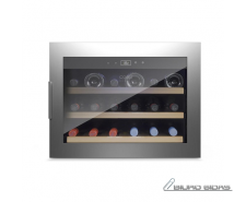 Caso Wine cooler WineSafe 18 EB  Built-in, Bottles capa..