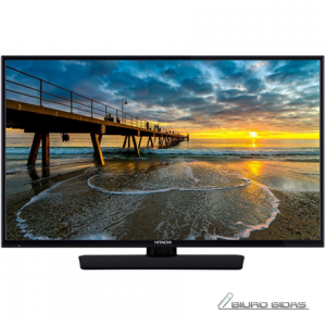 "Hitachi 43HE4000 43"" (108 cm), Smart TV, Full HD LED, 1920 x 1080 pixels, Wi-Fi, DVB-S/S2, Black 231510"