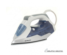 Scarlett SC - SI30K15 Blue, 2400 W, Steam iron, Continu..