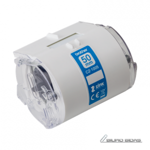 Brother CZ-1005 White,  Full colour continuous label roll, 5 m, 5 cm 234690