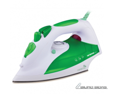 ORAVA ZE-108 G White/green, 2000 W, Steam Iron, Anti-sc..