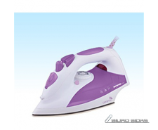 ORAVA ZE-108 V White/ purple, 2000 W, Steam Iron, Anti-..