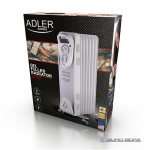 Adler AD 7807 Oil Filled Radiator, Number of ..