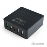 EnerGenie 5-port USB quick charger, QC 3.0 23..