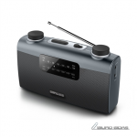 Muse Portable radio M-058R Black, AUX in 243265