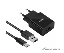 Acme Wall charger CH212 Type C, 1 x USB type A, Black, ..