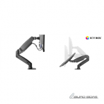 ICY BOX IB-MS303-T Monitor stand with desk mo..