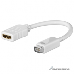Goobay Mini DVI/HDMI adapter cable 51745 0.1 ..