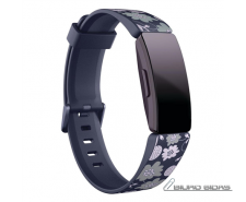 Fitbit Inspire Print Accessory Band, large, bloom 248589