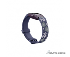 Fitbit Inspire Print Accessory Band, small, bloom 248600