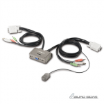 Edimax 2-Port USB KVM Switch with Cables and ..