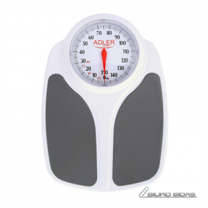 Adler Bathroom scales AD 8153 Maximum weight (capacity) 180 kg, Accuracy 1000 g, Multiple user(s), White, 249527