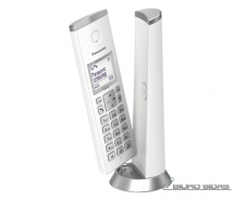 Panasonic Cordless KX-TGK210FXW White, Caller ID, Wirel..