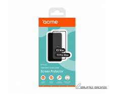 ACME SP1202 tempered glass for iPhone Xs Max, Black Acm..