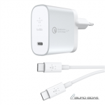 Belkin QC4+27W USB-C Home Charger + USB-C to ..