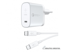 Belkin QC4+27W USB-C Home Charger + USB-C to C Cable F7..