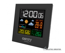 Camry Weather station CR 1166 Black, Date display 268580