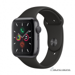 Apple Watch Series 5 GPS, 44mm Space Grey Alu..