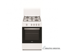 Simfer Cooker 4401SGRBB Hob type Gas, Oven type Gas, Wh..