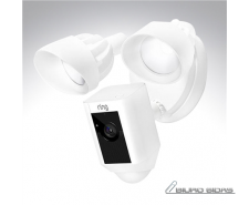 Ring Floodlight Cam 1080 pixels, Outdoor, White, Wi-Fi ..
