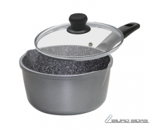 Stoneline 12584 Saucepan, 18 cm, Suitable for all cooke..