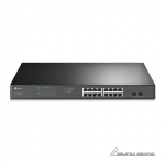 TP-LINK Switch TL-SG1218MPE Web Managed,  Rac..