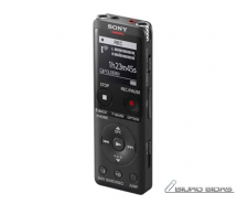 Sony Digital Voice Recorder ICD-UX570 LCD, Black, MP3 p..