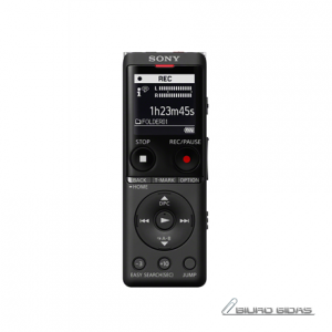 Sony Digital Voice Recorder ICD-UX570 LCD, Black, MP3 playback 286051