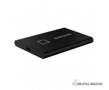 Samsung Portable SSD T7 500 GB, USB 3.2, Black, with fi..