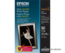 Epson Ultra Glossy Photo Paper 50 sheets, 13 x 18 cm, 3..