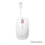 Asus UT300 Optical USB mouse, White/Red 294543