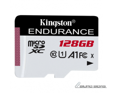 Kingston Endurance 95R 128 GB, Micro SD, Flash memory c..