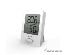 Duux Sense Hygrometer + Thermometer, White, LCD display..