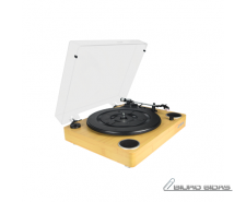 Jam Sound Turntable, AUX in, Wood 303691