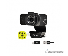 PORT DESIGNS FHD Webcam 900078 Black, USB 314671