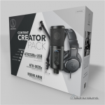 Audio Technica CREATOR PACK USB/3.5 mm, Black..