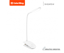ColorWay LED Table Lamp Flexible & Clip with built-in b..