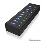 Raidsonic 10 port USB 3.0 Hub Icy Box IB-AC61..