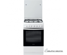 INDESIT Cooker IS5G5PHW/E Hob type  Gas, Oven type Elec..