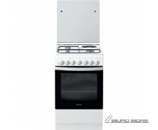 INDESIT Cooker IS5M5PCW/E Hob type 3 Gas + 1 Electric, ..