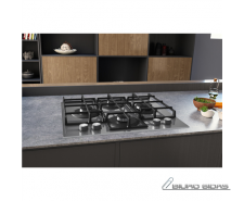 Hotpoint Hob HAGS 61F/WH Gas on glass, Number of burner..