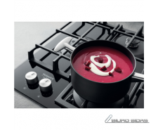Hotpoint Hob HAGS 61F/BK Gas on glass, Number of burner..
