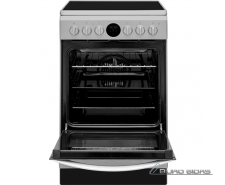 INDESIT Cooker IS5V8CHX/E Hob type Vitroceramic­, Oven ..