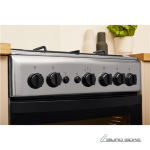 INDESIT Cooker IS5G1PMX/E Hob type Gas, Oven ..