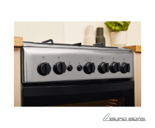 INDESIT Cooker IS5G1PMX/E Hob type Gas, Oven type Gas, ..
